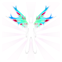 download Wings clipart image with 135 hue color