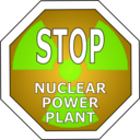 download Stop Nuclear Power Plant clipart image with 45 hue color