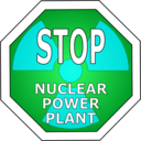 download Stop Nuclear Power Plant clipart image with 135 hue color