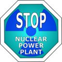 download Stop Nuclear Power Plant clipart image with 180 hue color