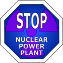 download Stop Nuclear Power Plant clipart image with 225 hue color