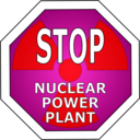 download Stop Nuclear Power Plant clipart image with 315 hue color