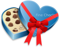 Valentines Day Love Choclate