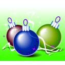 download Christmas Balls clipart image with 225 hue color