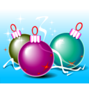 download Christmas Balls clipart image with 315 hue color