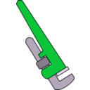 download Pipe Wrench clipart image with 135 hue color