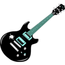 download Guitar clipart image with 135 hue color
