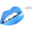download Lips clipart image with 225 hue color