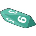 download Dice clipart image with 315 hue color