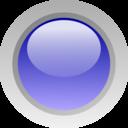 Led Circle Blue