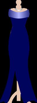 Formal Navy Dress