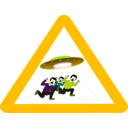 download Ufo Danger clipart image with 45 hue color