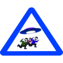 download Ufo Danger clipart image with 225 hue color