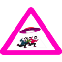 download Ufo Danger clipart image with 315 hue color