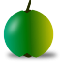 download Red And Green Apple clipart image with 45 hue color