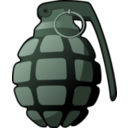 download Handgrenade clipart image with 45 hue color