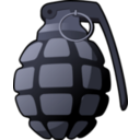 download Handgrenade clipart image with 135 hue color