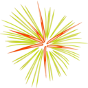 Green Fireworks Clipart | i2Clipart - Royalty Free Public ...
