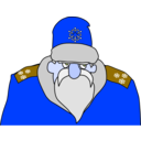 download Colonel Frost clipart image with 225 hue color