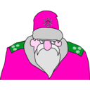 download Colonel Frost clipart image with 315 hue color