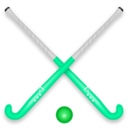 download Hockey Stick Ball clipart image with 135 hue color