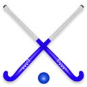 download Hockey Stick Ball clipart image with 225 hue color