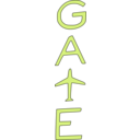 download Gate clipart image with 45 hue color