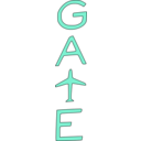 download Gate clipart image with 135 hue color