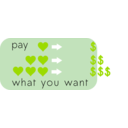 download Pay What You Want clipart image with 45 hue color