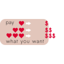 download Pay What You Want clipart image with 315 hue color