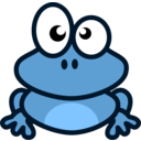 download Grenouille clipart image with 135 hue color