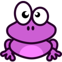download Grenouille clipart image with 225 hue color