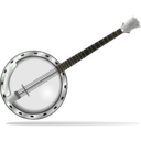 download Banjo clipart image with 45 hue color
