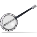 download Banjo clipart image with 225 hue color