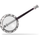 download Banjo clipart image with 315 hue color