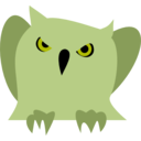 download Disappointed Owl clipart image with 45 hue color