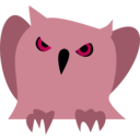 download Disappointed Owl clipart image with 315 hue color