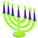 download Hanukkah Icon clipart image with 45 hue color
