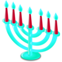 download Hanukkah Icon clipart image with 135 hue color
