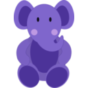 download Baby Elephant clipart image with 45 hue color