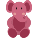download Baby Elephant clipart image with 135 hue color