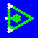 Regular Hex A Hop Triangular