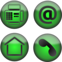 Four Contact Icons