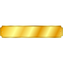Gold Metal Sign Extended