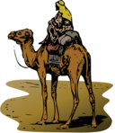 Camel With Rider