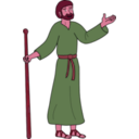 download Paul Of Tarsus clipart image with 315 hue color