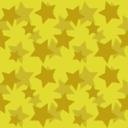 Gold Stars Seamless Pattern