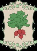 Garden Sign Radish