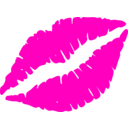 download Red Lips clipart image with 315 hue color