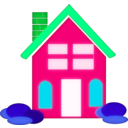 download Home Clipart clipart image with 135 hue color
